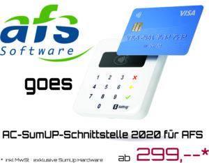 AC-SumUP-Schnittstelle 2020 für AFS